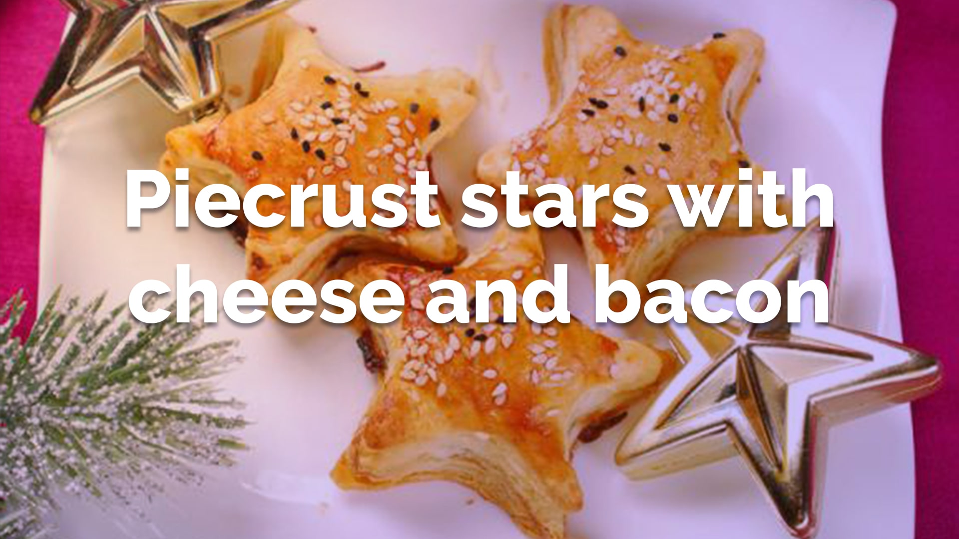 stars with cheese