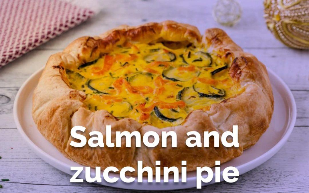 The Salmon and Zucchini Pie Recipe