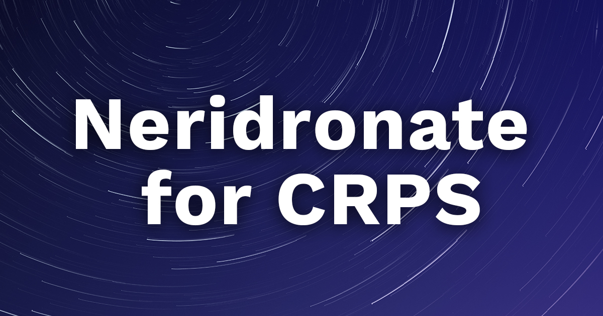 neridronate for crps